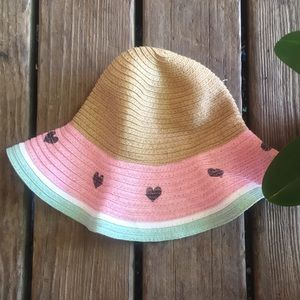 Limited too watermelon straw hat